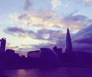 london, themse, and sky image