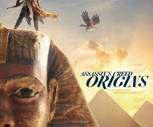 video games, game informer, and assassins creed origins image