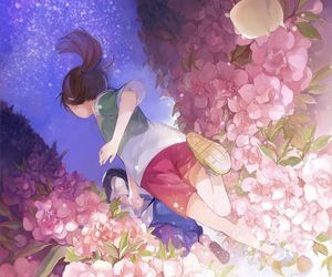anime, spirited away, and chihiro image