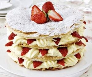 cream, crisp, and dessert image