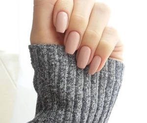 fingers, girl, and grey image