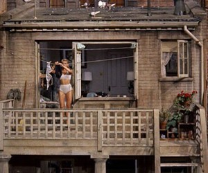 vintage and rear window image