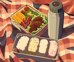 anime, food, and japan image