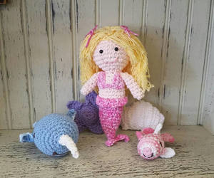 amigurumi, toddler toys, and baby shower gift image