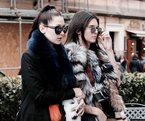 kendall jenner, bella hadid, and girl image