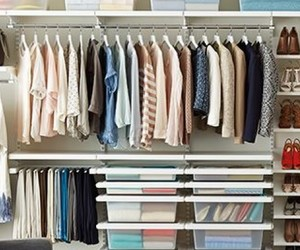 closet, fashion, and organizer image