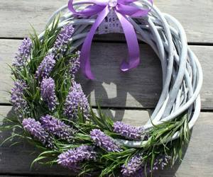 craft, wreath, and crafting image