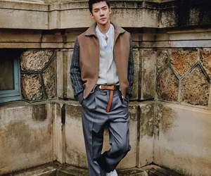 exo, fashion, and sehun image