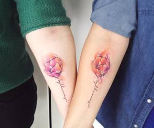 matching tattoos image