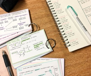 university, notes, and aesthetic image