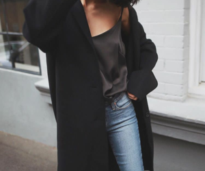 chic, denim, and clothes image