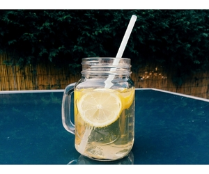 sunny day, water, and lemon image