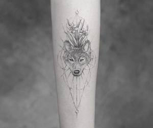 wolf tattoo image