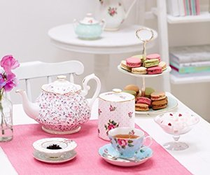 home decor, tea party, and table decor image