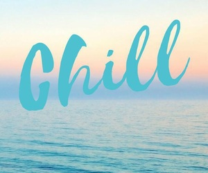chill, wallpaper, and ocean image