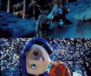 coraline, movie, and cat image