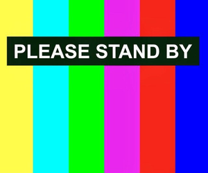 by, stand, and please image