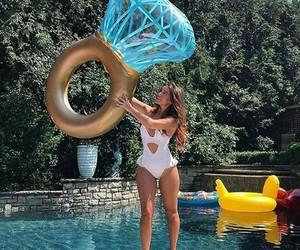 fashion, pool, and resort image