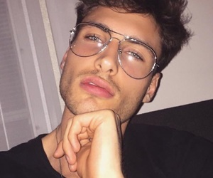boy, glasses, and guy image