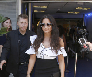 demi lovato, france, and street style image