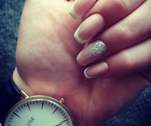 french, mint, and nails image