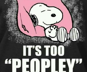 introvert and snoopy image