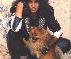 dog, gene simmons, and rock'n'roll image