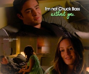 blair waldorf, chair, and chuck bass image