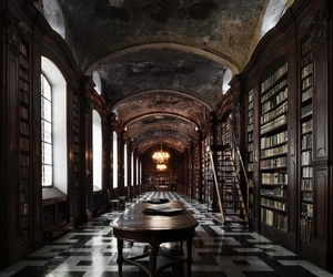 library and book image