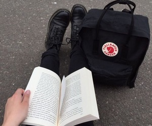 book, black, and grunge image