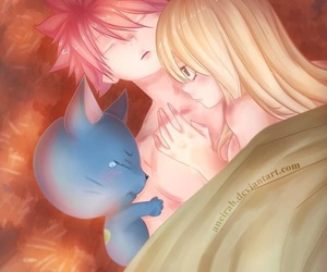 fairy tail, anime couples, and nalu image
