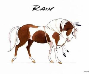 art, drawing, and rain image