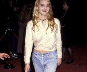 90s, drew barrymore, and style image