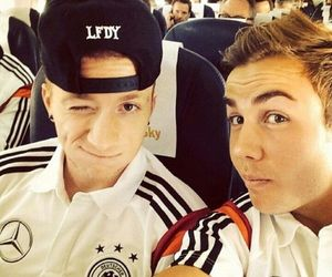 boy, football, and marco reus image