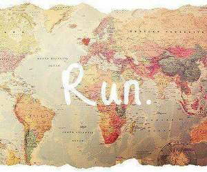 run, world, and travel image