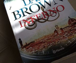 books, inferno, and dan brown image