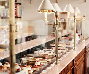 food, cake, and paris image