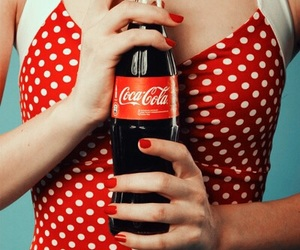 coke, soda, and red image