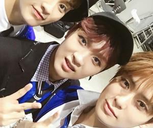 haechan, mark, and jaehyun image
