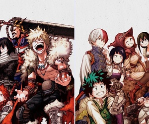 boku no hero academia, my hero academia, and anime season 2 image