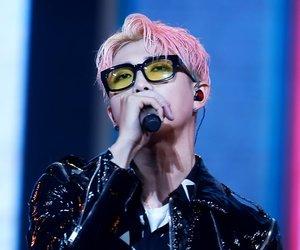 rap monster, bts, and kim namjoon image
