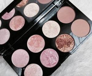 brush, cosmetics, and eyeliner image