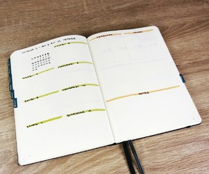 carnet, organisation, and weekly image