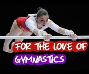 gymnastics, sports, and youtube image