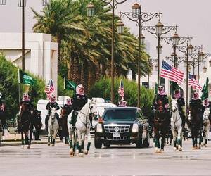 america, arabia, and horses image