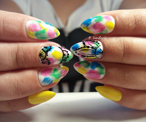 design, fashion, and nail art image
