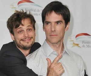 matthew grey gubler, criminal minds, and thomas gibson image
