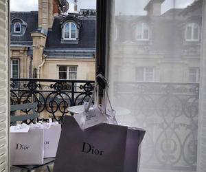 dior, shopping, and paris image