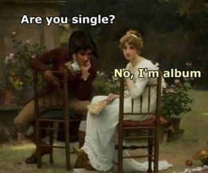 funny, single, and album image