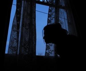 blue, grunge, and dark image